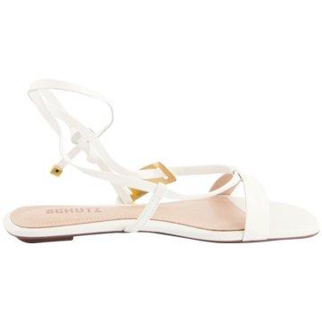 Schutz Sandale weiß