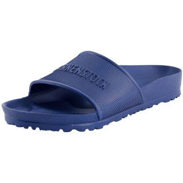Birkenstock Badelatsche blau
