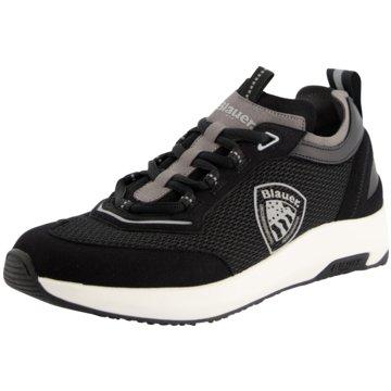Blauer USA Sneaker Low schwarz
