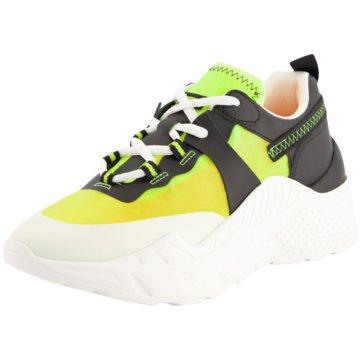 Steve Madden Plateau Sneaker gelb