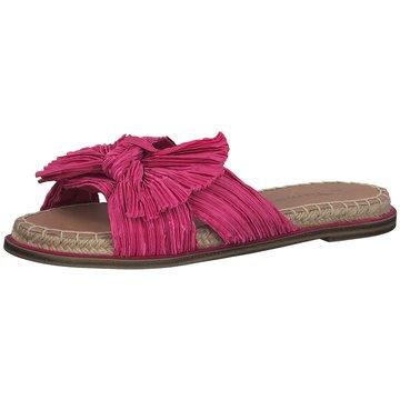 Tamaris Espadrilles Pantoletten pink