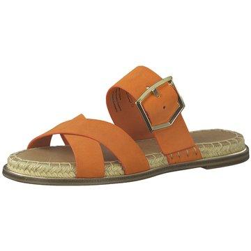 Tamaris Top Trends Pantoletten orange