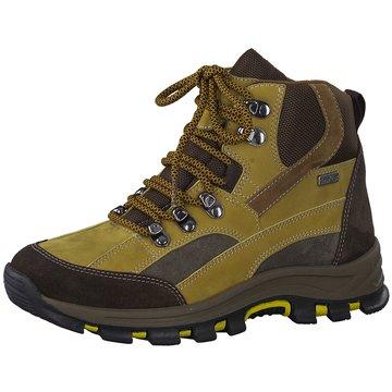 Jana Outdoor Schuh gelb