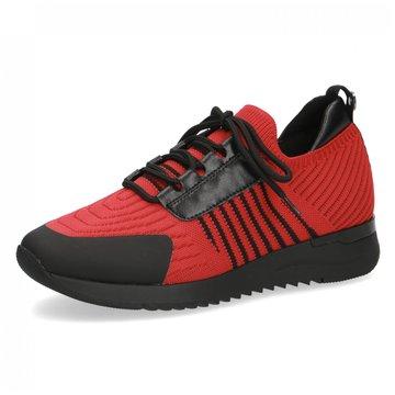 Caprice Sportlicher Slipper rot