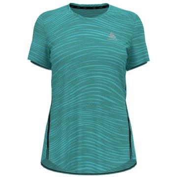 ODLO T-ShirtsT-SHIRT S/S CREW NECK ZEROWEIG - 313321 grün
