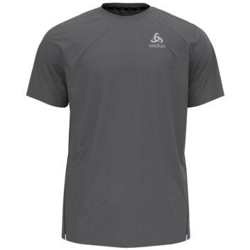 ODLO T-ShirtsT-SHIRT S/S CREW NECK ZEROWEIG - 313332 grau