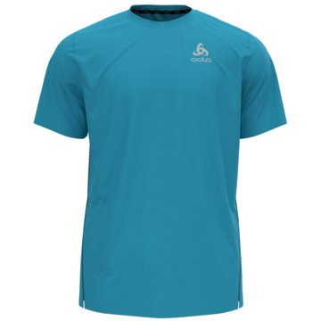 ODLO T-ShirtsT-SHIRT S/S CREW NECK ZEROWEIG - 313332 blau