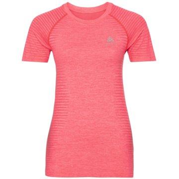 ODLO T-ShirtsT-SHIRT S/S CREW NECK ESSENTIA - 313491 rot