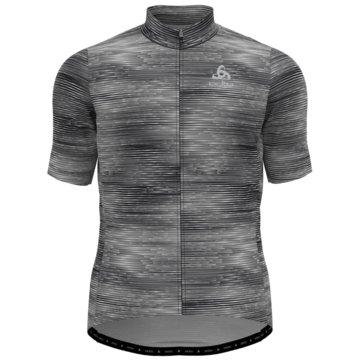 ODLO T-ShirtsSTAND-UP COLLAR S/S FULL ZIP E - 411782 schwarz