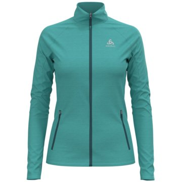 ODLO SweatjackenMIDLAYER FULL ZIP PROITA - 593091 grün