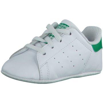 adidas KrabbelschuhSTAN SMITH CRIB - B24101 weiß