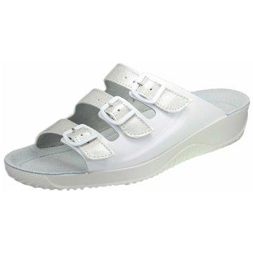 Rohde Komfort Pantolette weiß