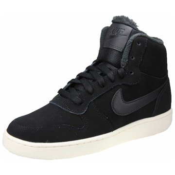 Nike Komfort Schnürschuh schwarz