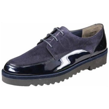 Paul Green Eleganter Schnürschuh blau