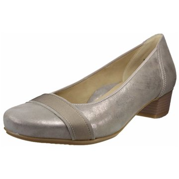 ara Flacher Pumps gold