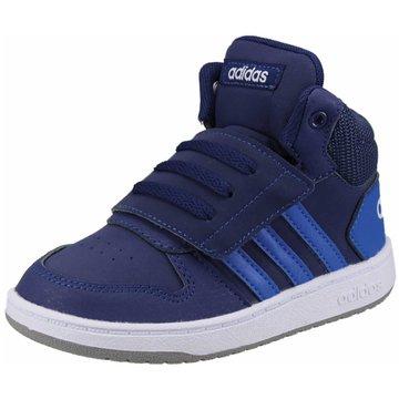 adidas KlettschuhHOOPS MID 2.0 I blau