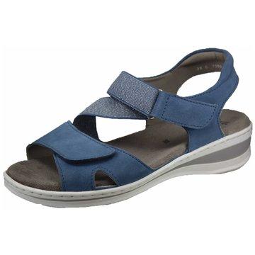 ara Bequeme Sandalen blau
