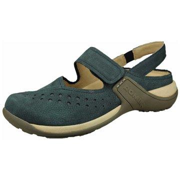 Westland Komfort Sandale blau