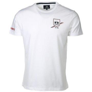 La Martina T-Shirts basic weiß