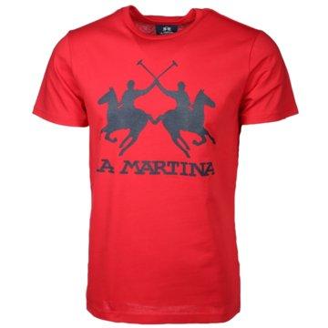La Martina T-Shirts print rot
