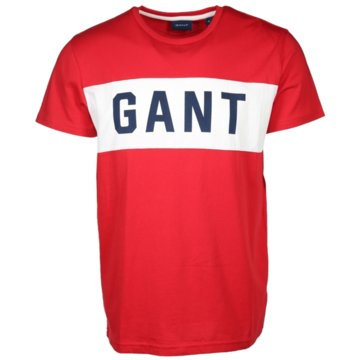 Gant T-Shirts print rot