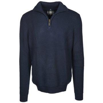 wind sportswear Strickpullover blau