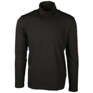 Campione Langarmshirt schwarz