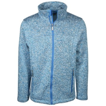 wind sportswear Fleecejacken blau