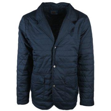 wind sportswear Lederjacken blau