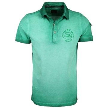 PME Legend Poloshirts grün
