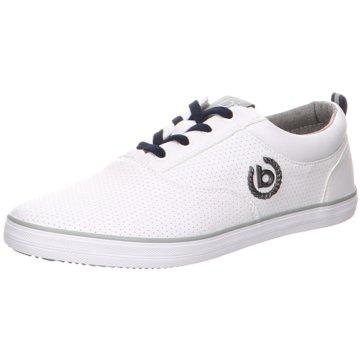 Bugatti Sneaker LowAlfa weiß