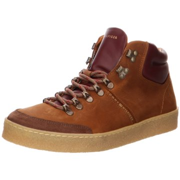 Tommy Hilfiger Sneaker HighLogan 4 braun