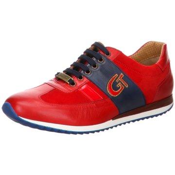 GALIZIO TORRESI Sportlicher Schnürschuh rot
