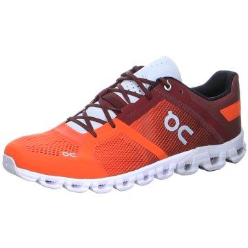 ON RunningCloudflow orange