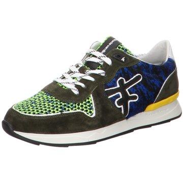 Floris van Bommel Sneaker LowFloris Premium DarkGreen Suede grün