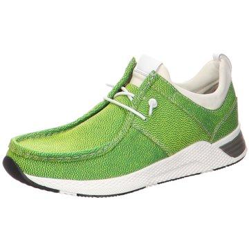 Sioux Komfort MokassinMokRunner grün