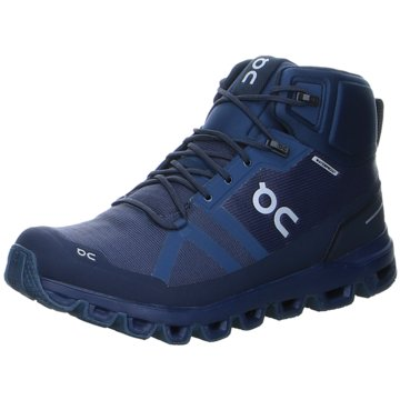 ON TrailrunningCLOUDROCK WATERPROOF blau