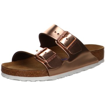 Birkenstock Top Trends PantolettenArizona SFB gold