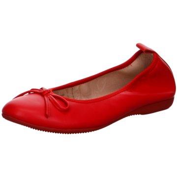 La Ballerina Klassischer Ballerina rot