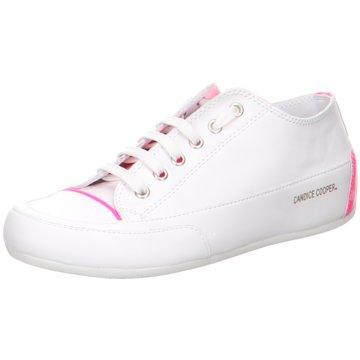 Candice Cooper Sportlicher Schnürschuh weiß