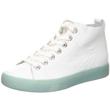 Paul Green Sneaker High weiß