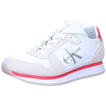 Calvin Klein Sneaker Low weiß