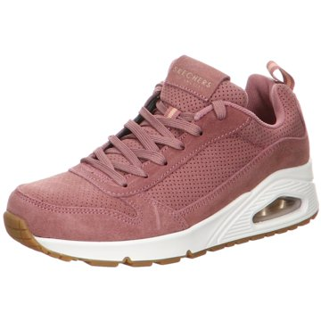 Skechers Sneaker LowUno - Two for the Show rosa