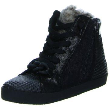 Donna Carolina Sneaker Wedges schwarz