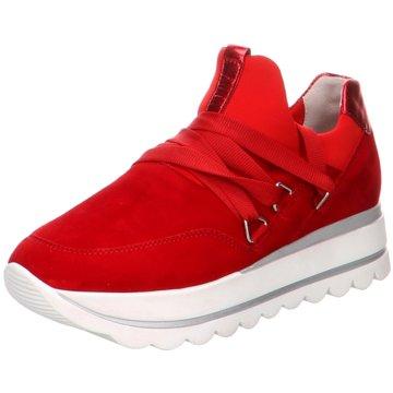 Gabor Sportlicher Slipper rot