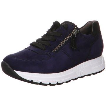 Paul Green Plateau Sneaker blau
