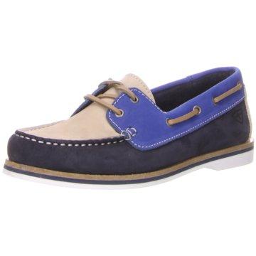 Tamaris BootsschuhFolk blau