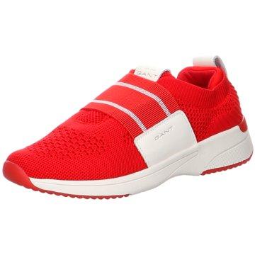Gant Sportlicher Slipper rot