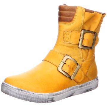 Esgano Komfort Stiefelette gelb