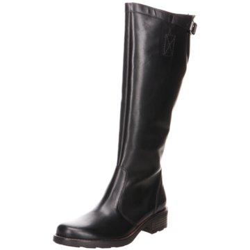 Paul Green Klassischer Stiefel8105 schwarz